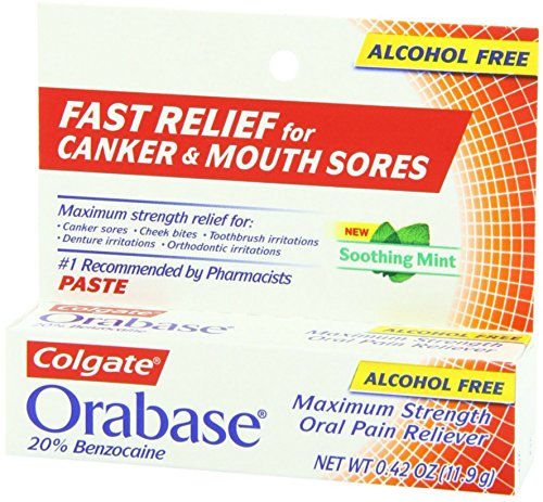 Price comparison product image Colgate Orabase Paste 12 g (Pack of 2)