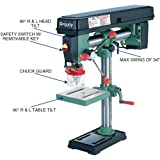 """Grizzly Industrial G7945-34"""" Benchtop Radial"""