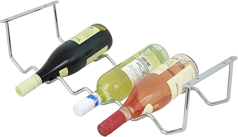 4 Oenophilia Under Cabinet Wine Rack