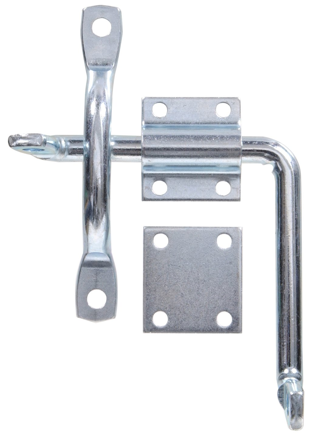 The Hillman Group 851938 Door and Gate Latch with Bar Strike