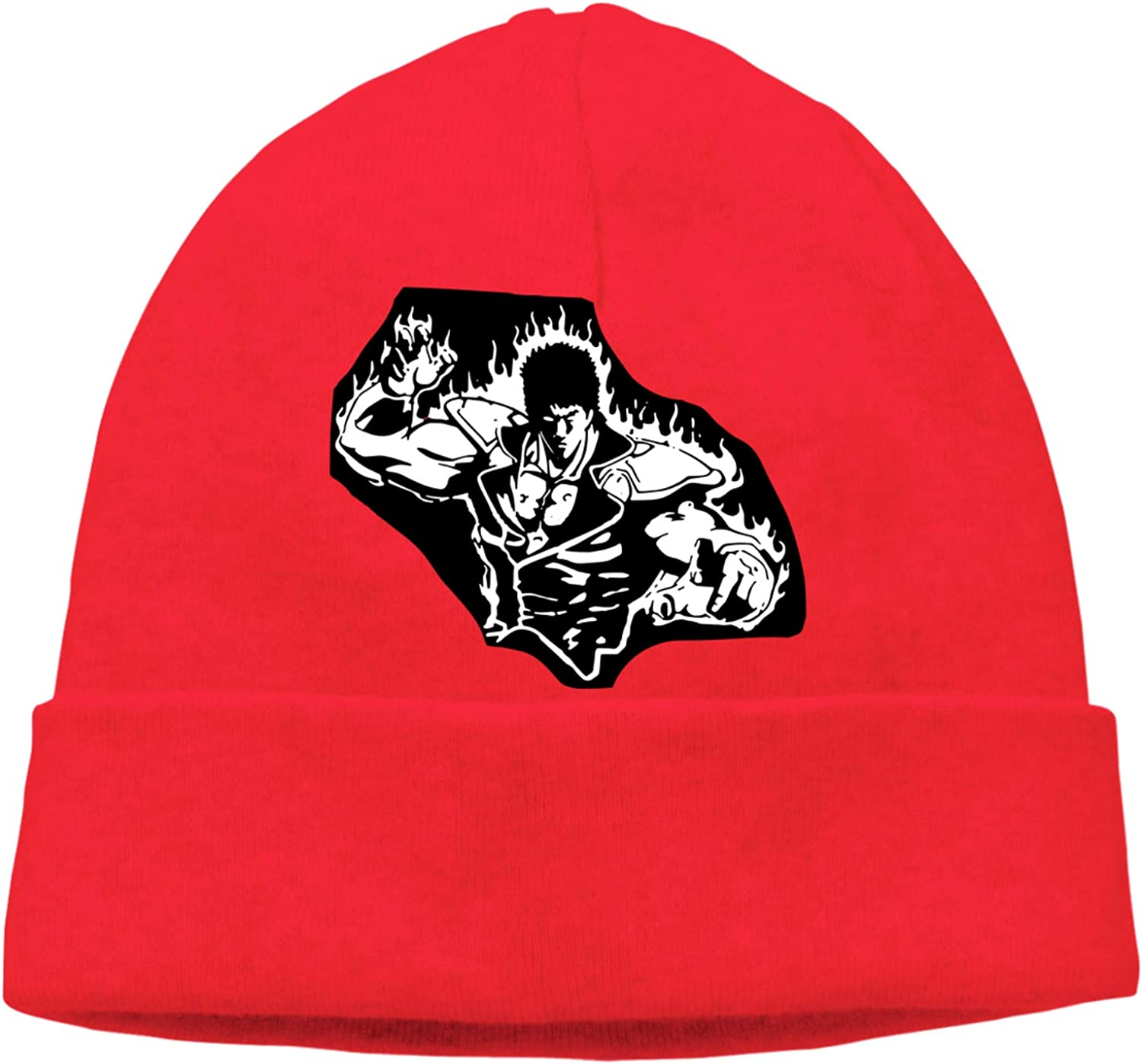 Men Women Fist of The North Star Soft Knit Beanie Caps Hedging Cap