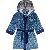 Jurassic World Dinosaur Boys Blue Raptor Fleece Robe
