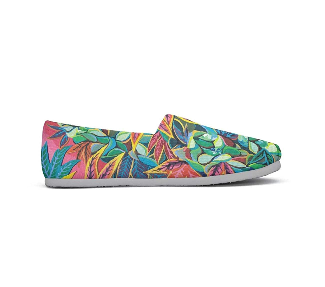 Charming Cannabis Leaves Classics Womens Comfort Flat Boat Shoes Ladies Loafer Shoes