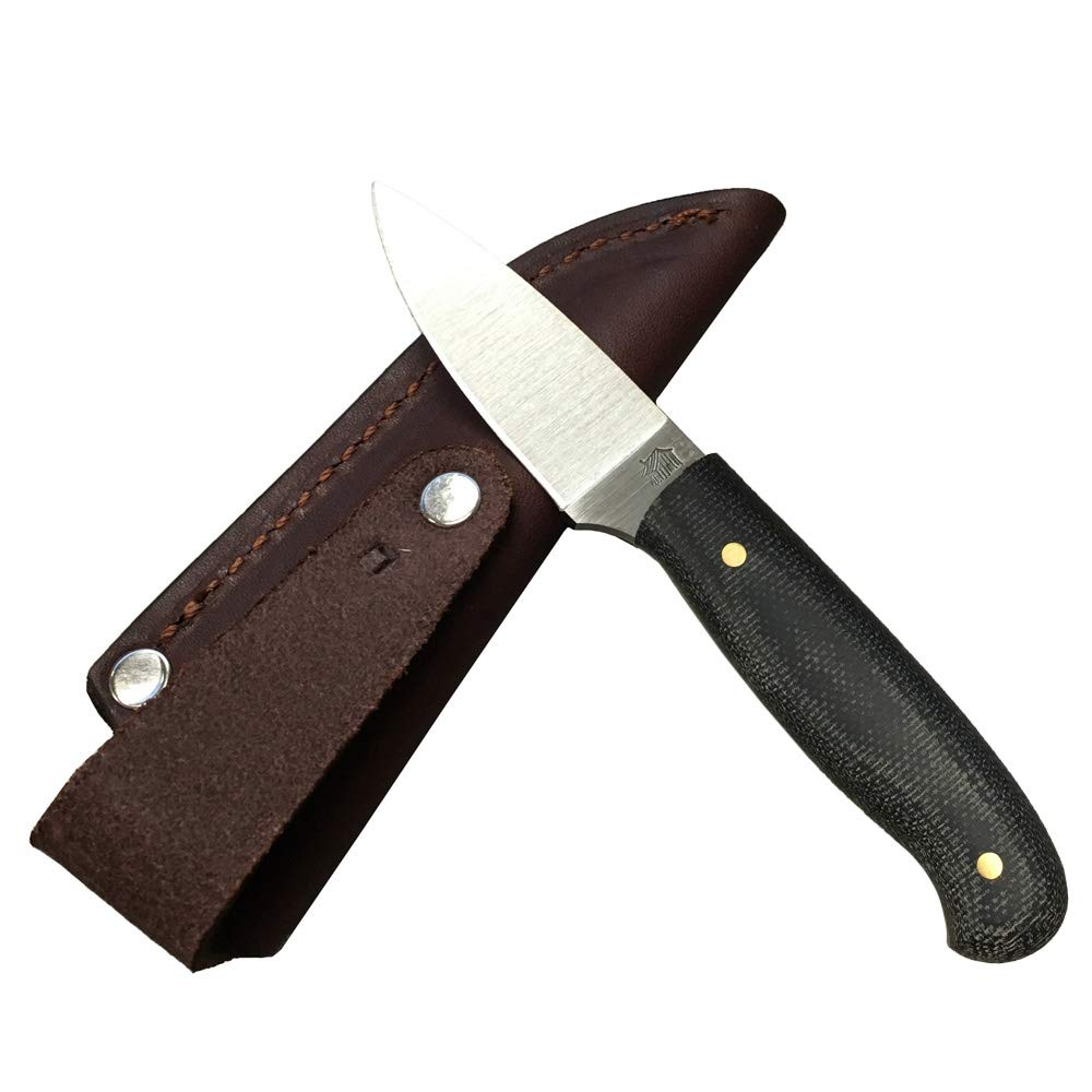 L.T. Wright Handcrafted Knives Patriot - Flat Grind, 3V Steel (Black Matte) by L.T. Wright (Image #2)