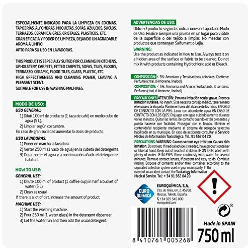 Lagarto Amoniaco Con Detergente Extra Fuerte - 805 gr ...