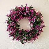 SogYupk Decorative Season Front Door Sale - Autumn, Winter, Spring and Summer Outdoor Display Wreath