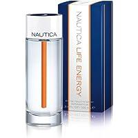 Nautica Life Energy Spray for Men, 3.4 Ounce