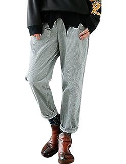 4242be1a6d5d Youlee Damen Winter Herbst Elastische Taille Karierte Hosen Style 1 ...