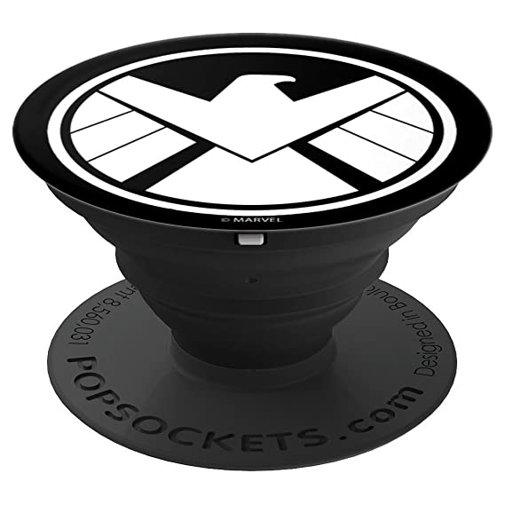 Amazon Marvel Avengers Shield Icon Popsockets Grip And Stand