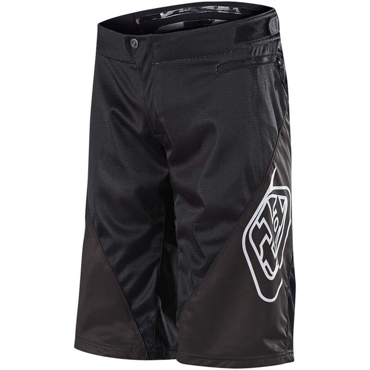 Troy Lee Designs Sprint Shorts - Boys' Solid Black, 28 by Troy Lee Designs