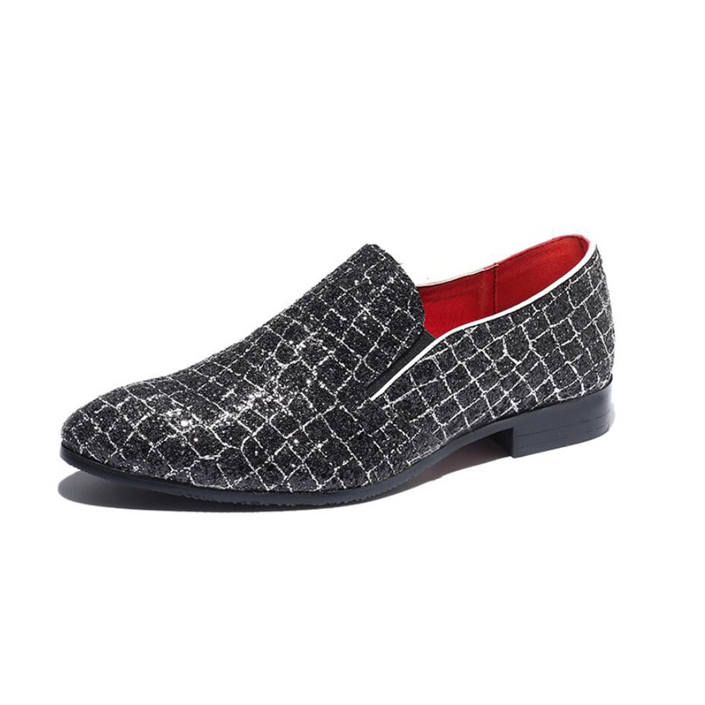 Color : B, Size : 48 XUEXUE Mens PU Shoe Spring Summer Loafers /& Slip-Ons Driving Shoes Lazy Shoe Casual Breathable Comfort Formal Business Work Party /& Evening Athletic