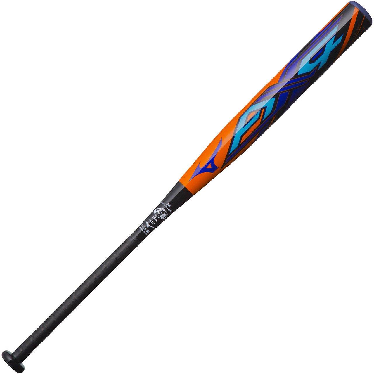ミズノ(MIZUNO) ミズノプロ AX4 ソフト3号ゴムボール用 FRP製 1CJFS307 B076FQ3WQK5409:オレンジ×ブラック 84cm