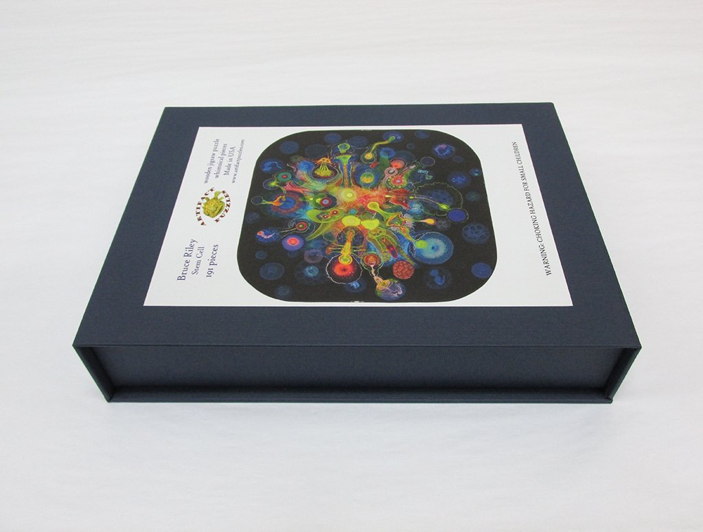 Artifact Puzzles Bruce Riley Stem Cell Wooden Jigsaw Puzzle