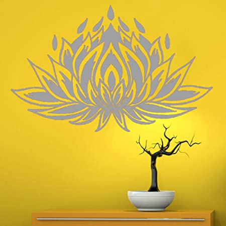 guijiumai Dctal Yoga Club Sticke Lotus Decal Posters Vinilo ...