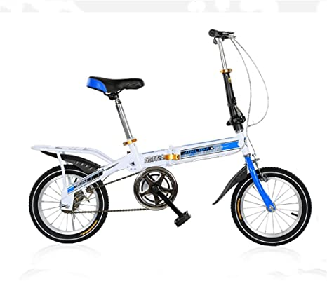 MASLEID Bicicletas Plegables para niños los niños de 7-15 años de Edad Bicicleta, 20 Inch: Amazon.es: Deportes y aire libre