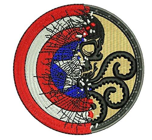 Outlander Gear Marvel Comics Avengers Captain America Shield and Hydra Half and Half 4
