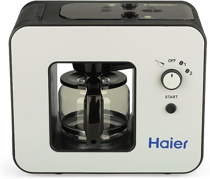Haier SKL - D003 Máquina de Café con Molinillo Incorporado y Placa ...