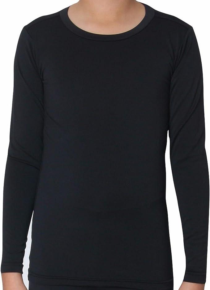 GA Communications Kids Thermal Tops Long Sleeves Shirt Boys Girls Base Layer Children Underwear