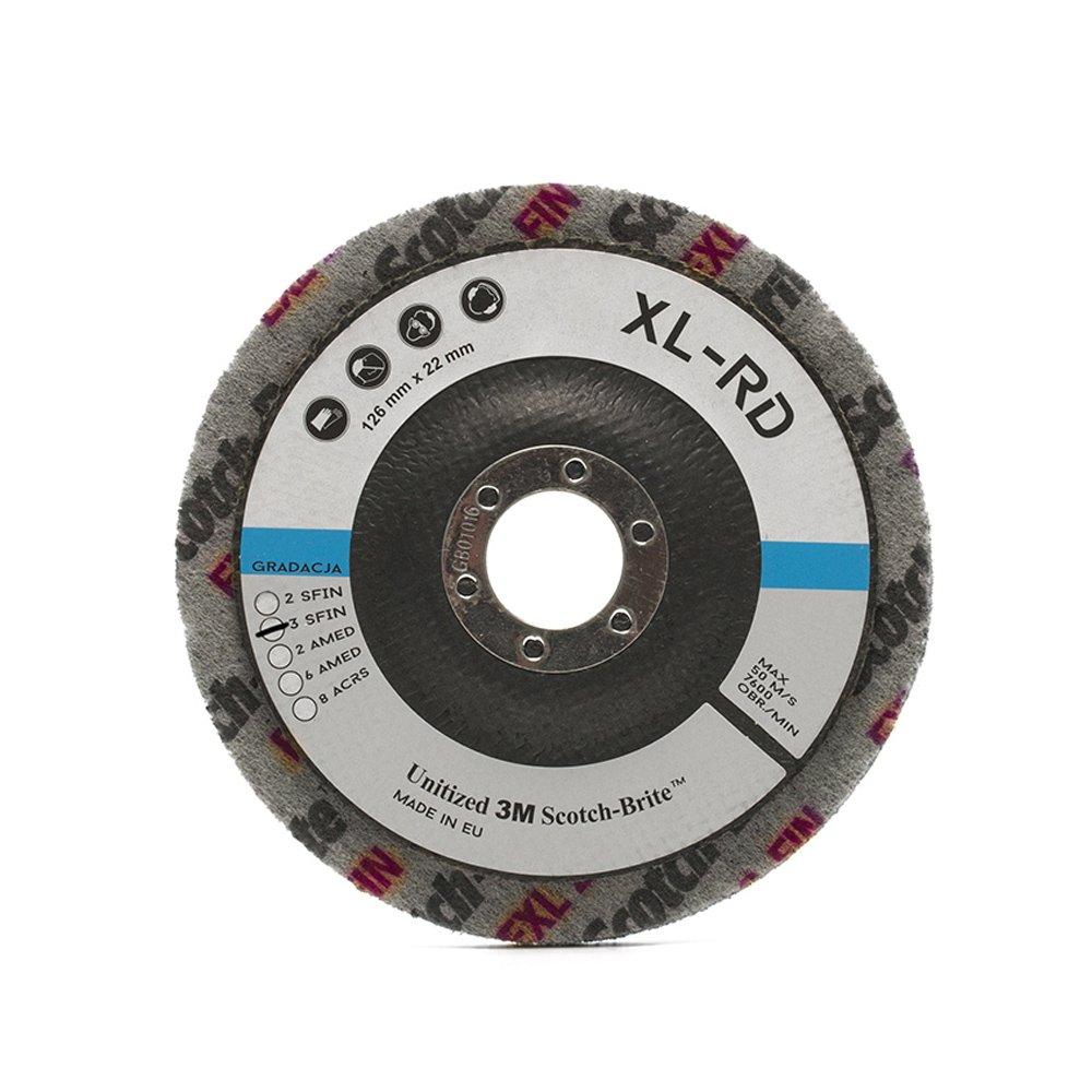 MaxiDetail AD9211 Scotch-Brite Disc XL-RD 3SFIN / 125mm / 3M Scotch Brite