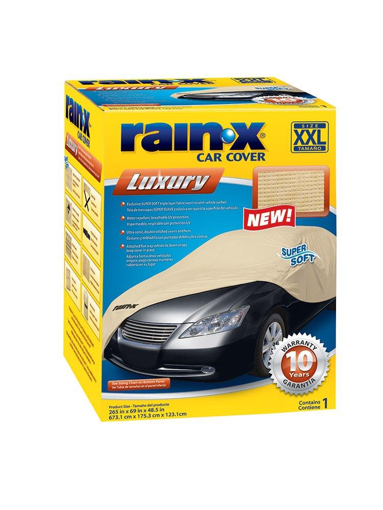 Rain-X 805528 Beige X-Large Luxury Car Cover