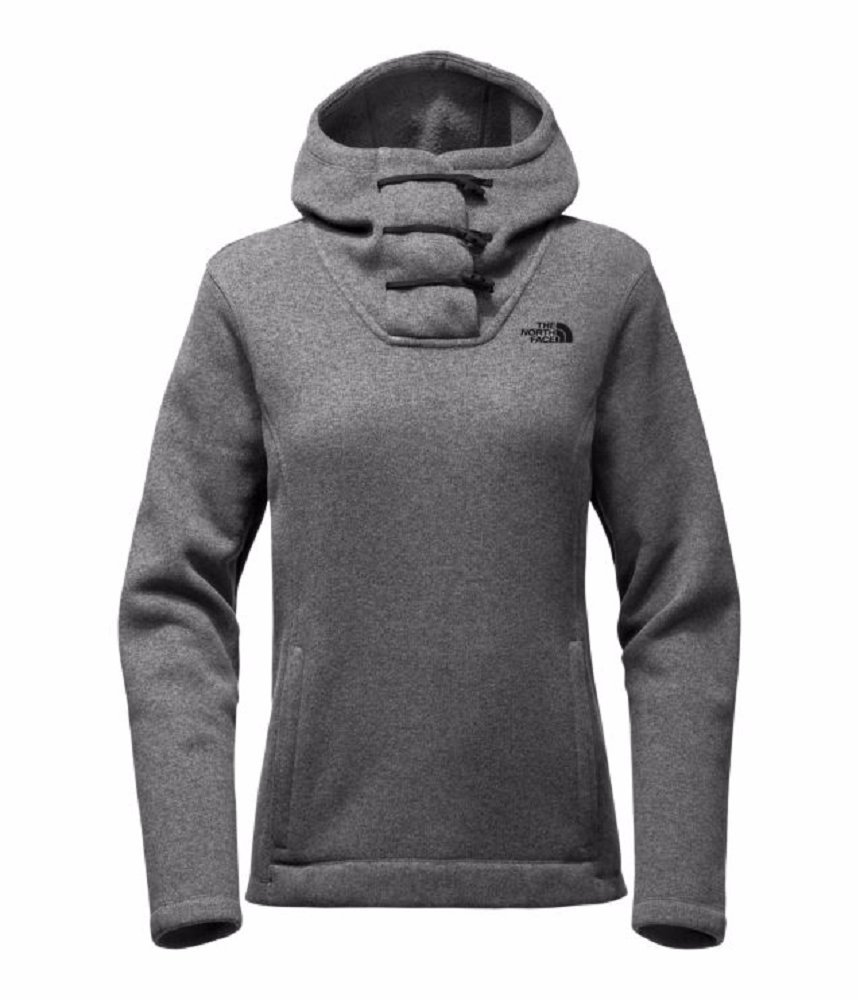 The North Face Women's Crescent Hoody Pullover Tnf Medium Grey Heather (Small)
