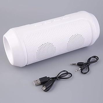 Altavoz inalámbrico estéreo portátil Ligero de Bluetooth del LED para la Tableta del Ordenador portátil del