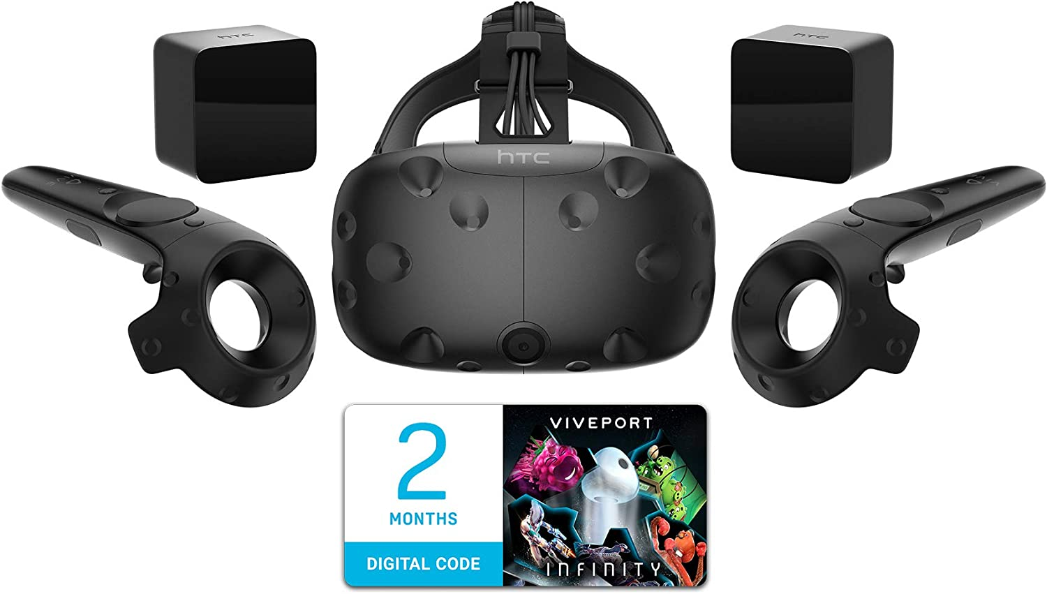 HTC Vive Next generation Virtual Reality Gaming Headset 3D Monitor (US Version, Imported)