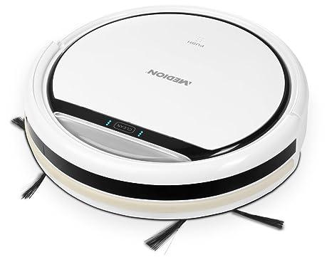 MEDION MD 16192 Bolsa para el polvo 0.3L Negro, Color blanco aspiradora robotizada -