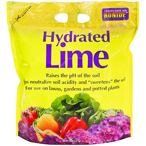 Pickling Lime - Bonide Chemical Number-5 Hydrated Lime for Soil - 5 Pounds