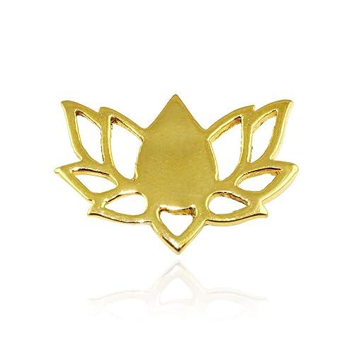 Buy G Vogue Casual Lotus Bjp Symbol Party Logo Brooch Badge Ideal