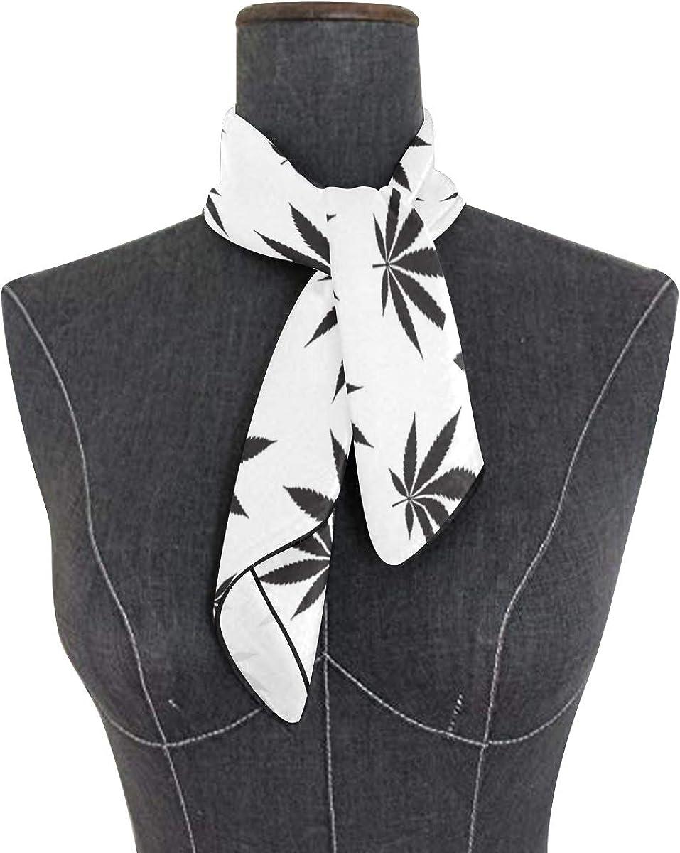 Soft Polyester Silk Bed Head Scarf Fashion Print Natural Organic Hemp Headband Scarf Women Head Scarves Girl Scarves Multiple Ways Of Wearing Daily Decor