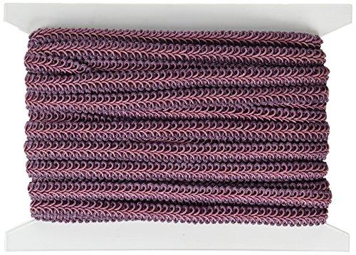 - Expo International Alice Classic Woven Braid Trim, 20-Yard, Plum