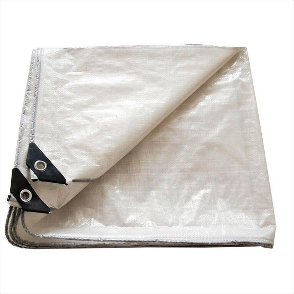 l'ultimo Tenda da sole Tarpaulin 120g   m² Cover in in in Tela Bianca PE Impermeabile (colore   Bianca, Dimensioni   2mx3m)  fino al 42% di sconto