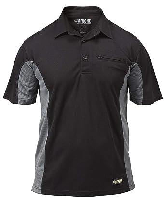 Apache Dry - Polo para hombre, tamaño M, color negro: Amazon.es ...