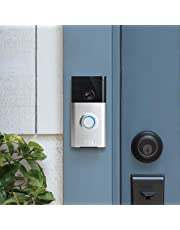 Ring Video Doorbell | HD video doorbell with motion-activated alerts and two-way talk