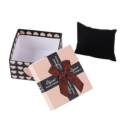 Bowknot Bracelet En Cadran D Emballage Cadeau Boite Etui De