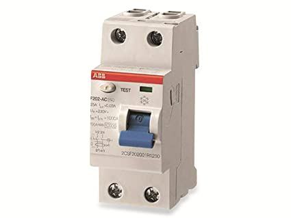 ABB F202 A 40A 30MA INTERR.DIFFERENZ. PURO 2P  Amazon.it  Commercio ... 252323e0785