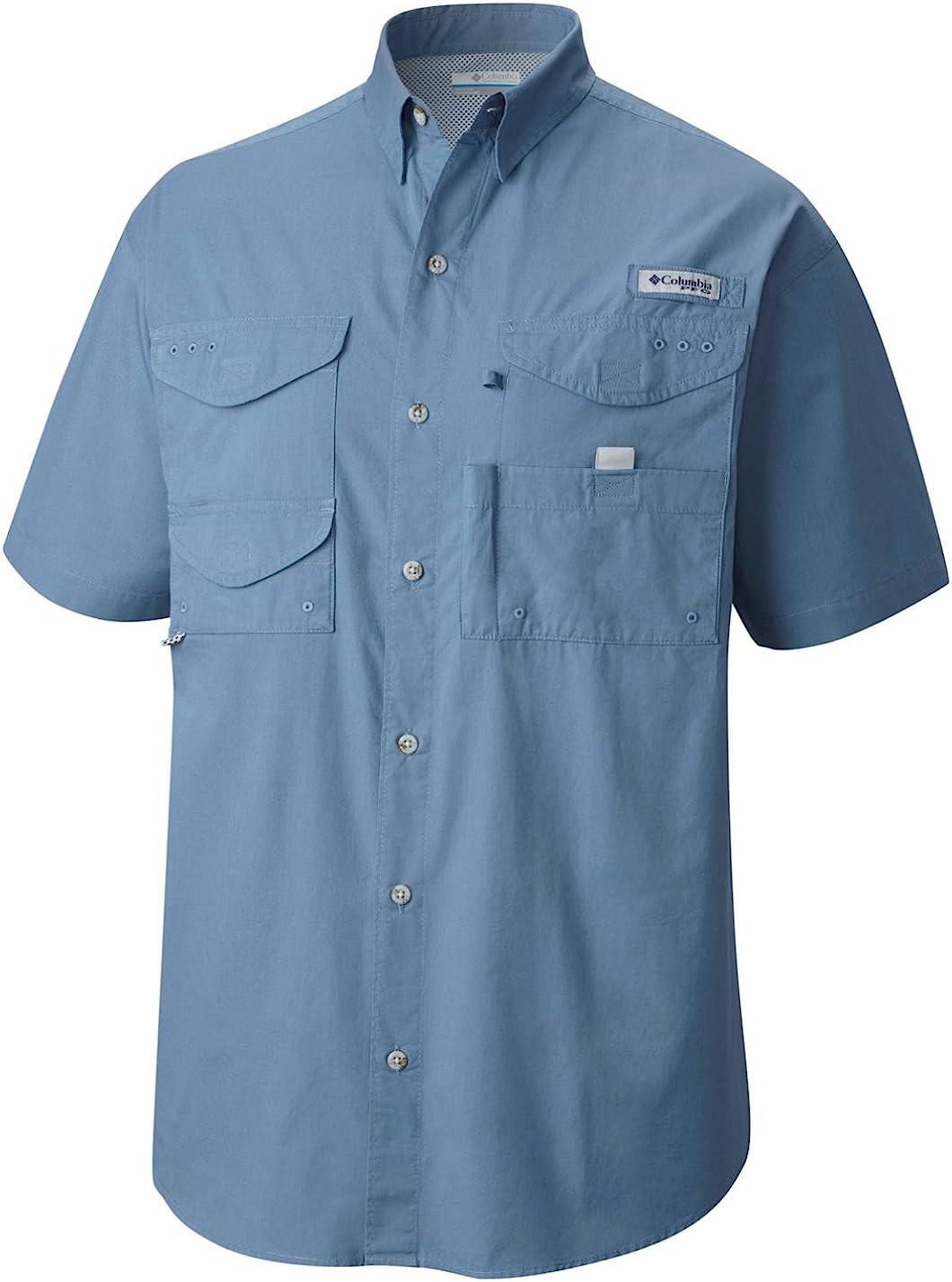 "New Womens Columbia  PFG /""Bonehead/"" Short Sleeve Fishing Shirt"