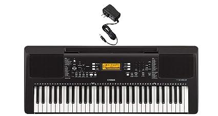 Yamaha Psr E363 Portable Keyboard With Power Adapter