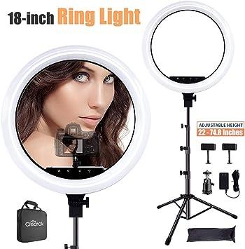 Neewer Mesa Maquillaje anillo flash de luz de 8 pulgadas Regulable Mini LED Luz De Anillo