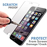 iPhone 6S / 6 ? Premium Quality ? Tempered Glass Screen Protector by Voxkin Invisible Protective Glass for iPhone 6 - Scratch Free, Anti Fingerprint - Crystal Clear HD Display