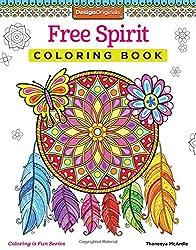 Free Spirit Coloring Book (Coloring Is Fun)