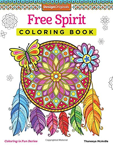 Amazon.com: Free Spirit Coloring Book (Coloring Is Fun ...