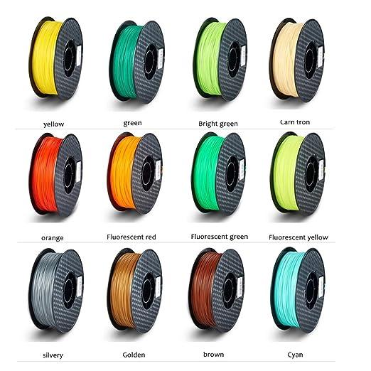 FENGXONG 40 colores!ABS 3D filamento impresora filamento filamento ...