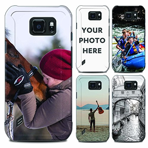 STUFF4 Personalized Photo Mobile Phone Case/Cover for Samsung Galaxy S6 Active/G890 / Customize/Create/Design/Make Your - Customize Customise