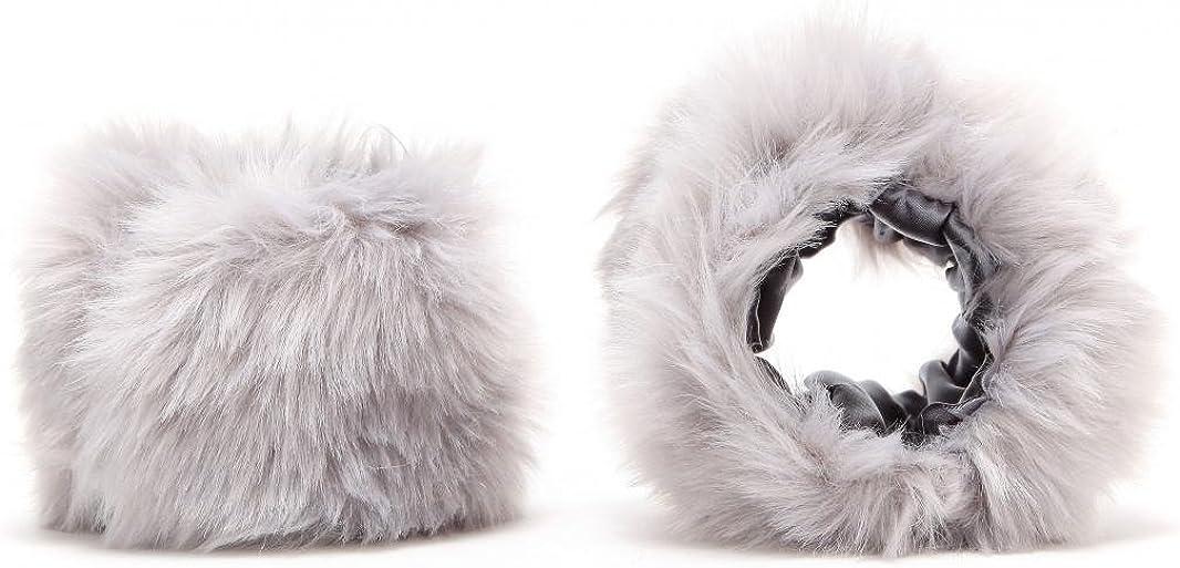 Short Faux Fur Cuffs Wrist...