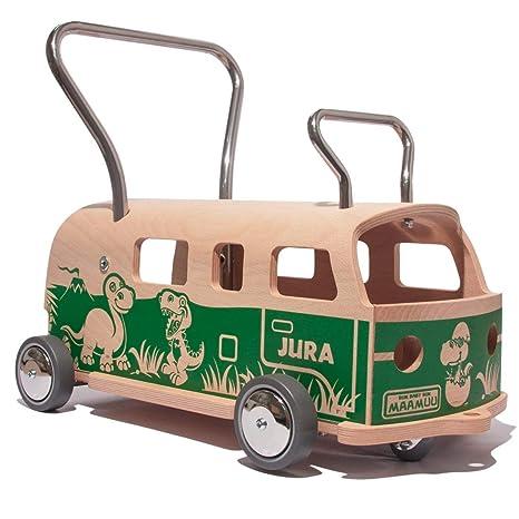 3 en 1 Andador + furgoneta + correpasillo Baloss JURA de madera ...