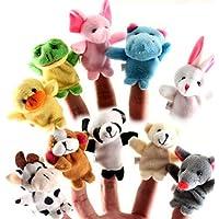 Cestval Animal Finger Puppet Set Toy Juguetes educativos