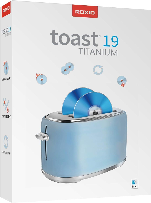 Roxio Toast 19 Titanium   CD & DVD Burner for Mac   Disc Burning, File Conversion, Multimedia Suite [Mac Disc]