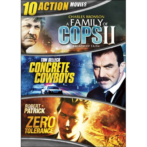 DVD : 10-movie Action Collection (Full Frame, Slim Pack, 2 Pack, Widescreen, 2PC)